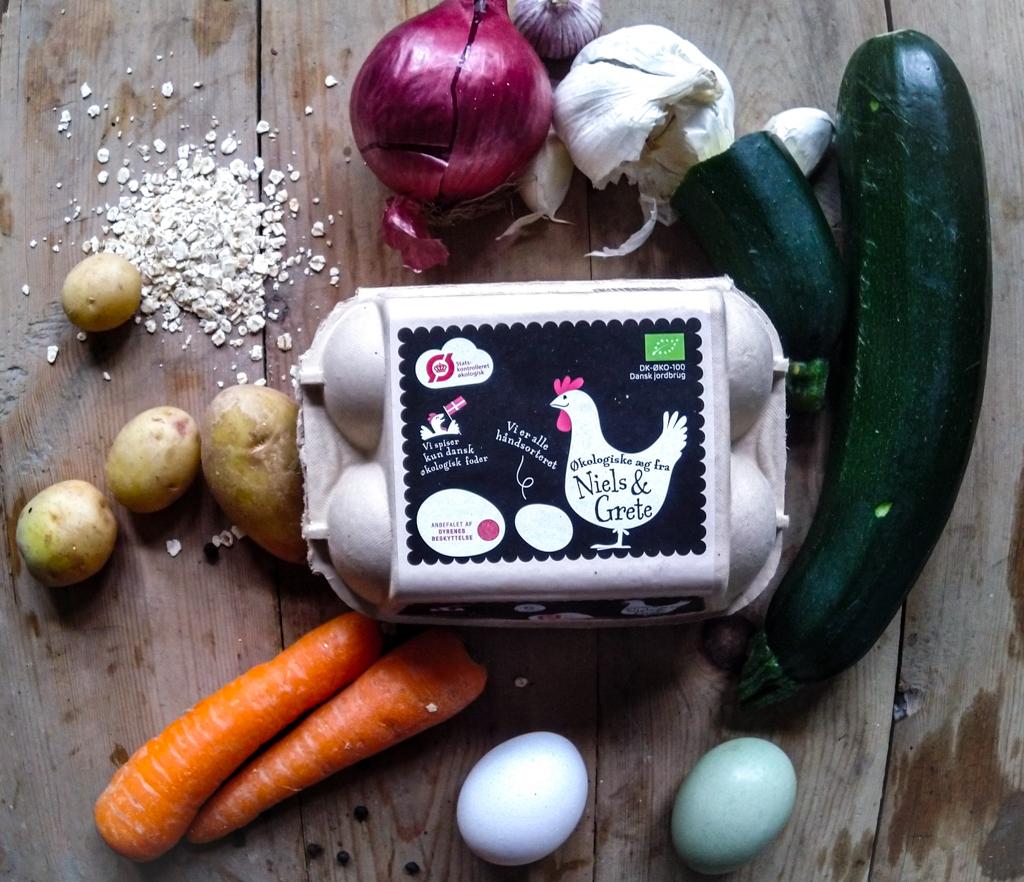 Saftige Frikadeller spækket med grøntsager
