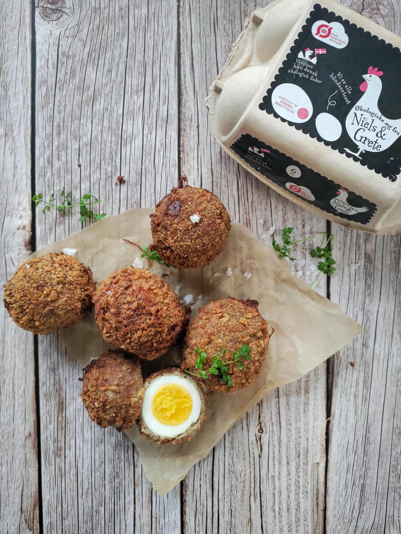 Opskrift på skotske æg