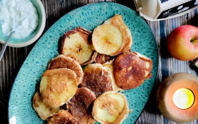 Æble pandekager
