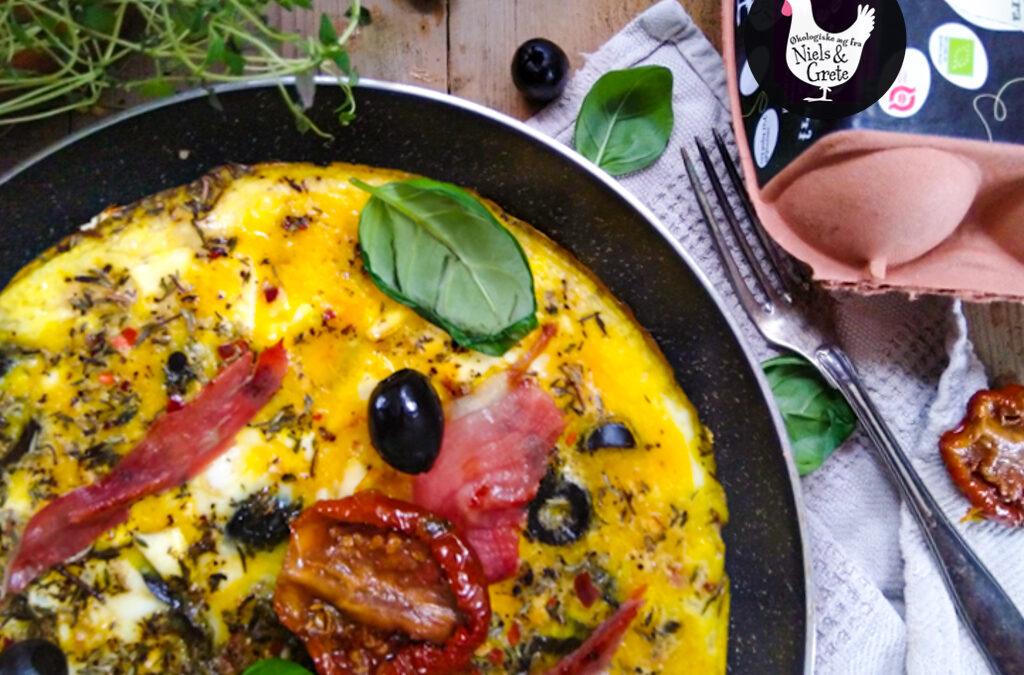Græsk/ italiensk æggekage